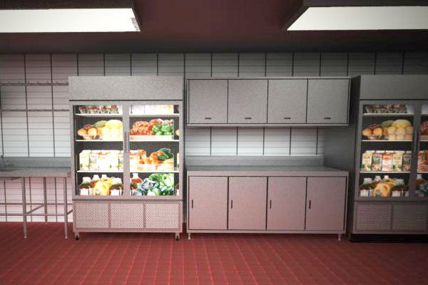 Cocinas ambulantes for Muebles de cocina moviles